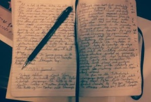 A Page form my Journal... Sorry.. nothing scandalous here