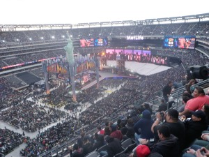 Wrestlemania 29 in NY Giants Stadium