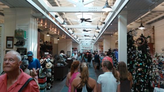 Inside of the market