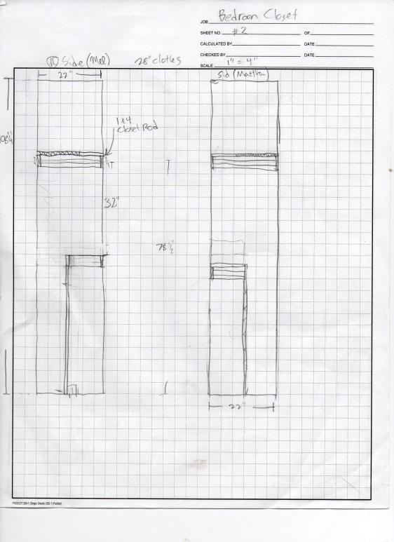 Closet Plan Side003